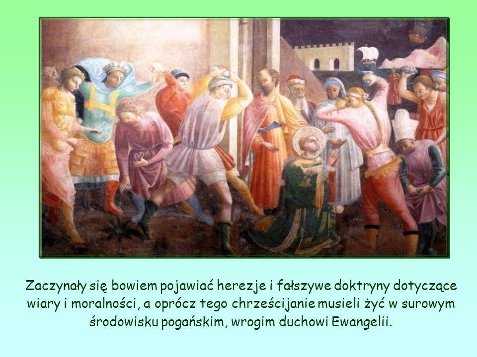 Św. Jan pisze do założonych przez siebie wspólnot chrześcijańskich w momencie wielkich trudności.