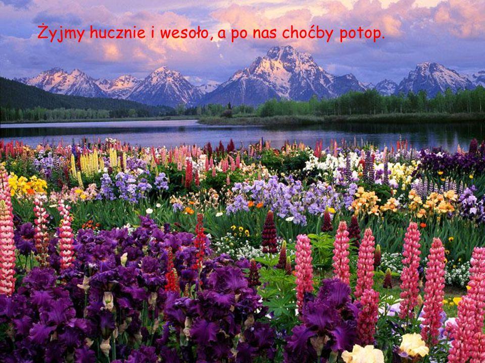 Życie to wielkie płótno, na którym powinieneś malować najpiękniej jak umiesz