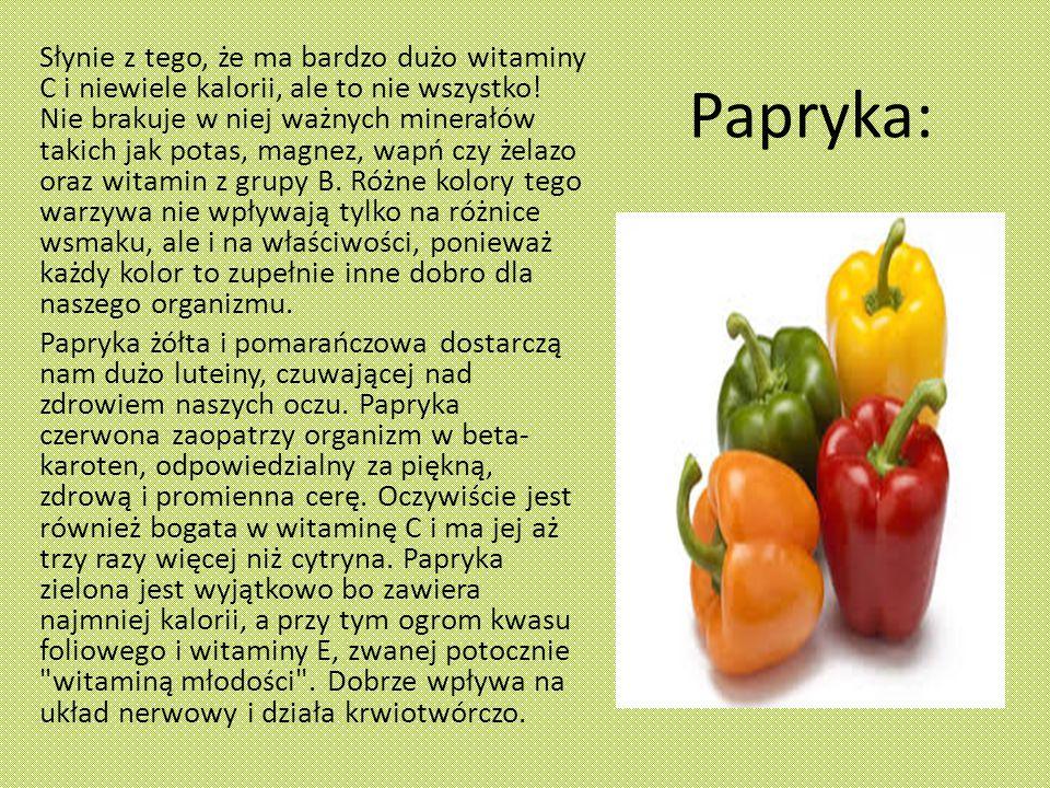 Papryka: Słynie z tego, że ma bardzo dużo witaminy C i niewiele kalorii, ale to nie wszystko.
