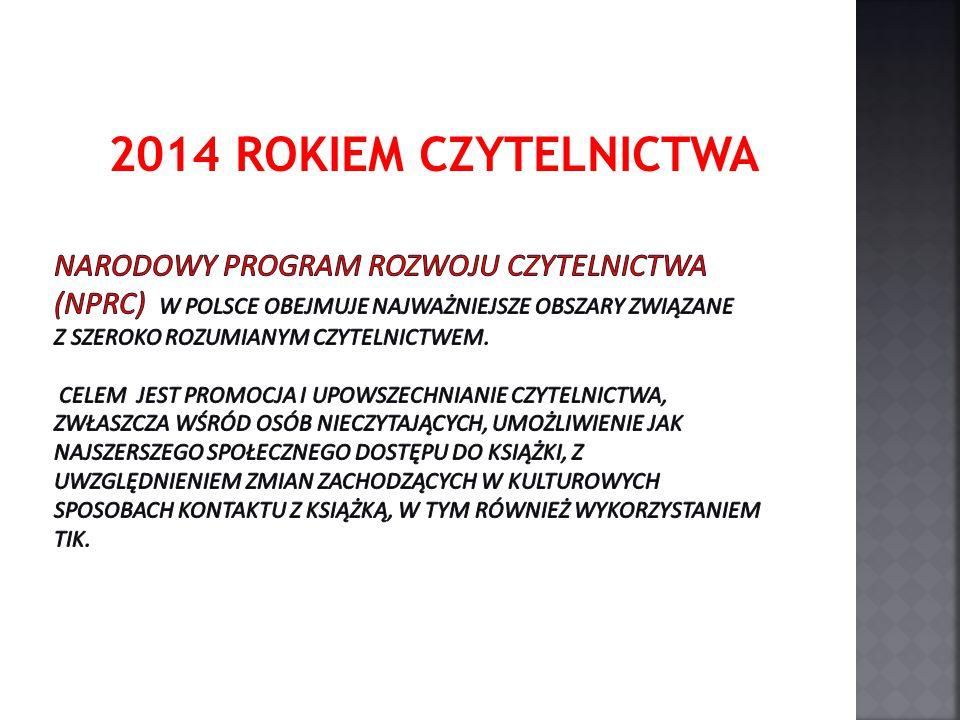 2014 ROKIEM CZYTELNICTWA