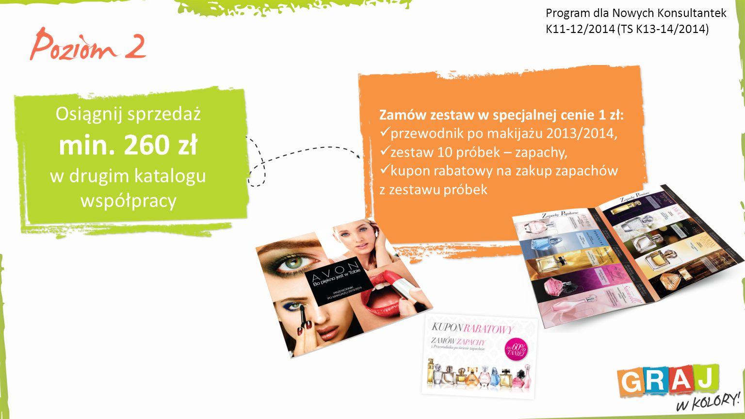 Zamów zestaw w specjalnej cenie 1 zł: przewodnik po makijażu 2013/2014, zestaw 10 próbek – zapachy, kupon rabatowy na zakup zapachów z zestawu próbek