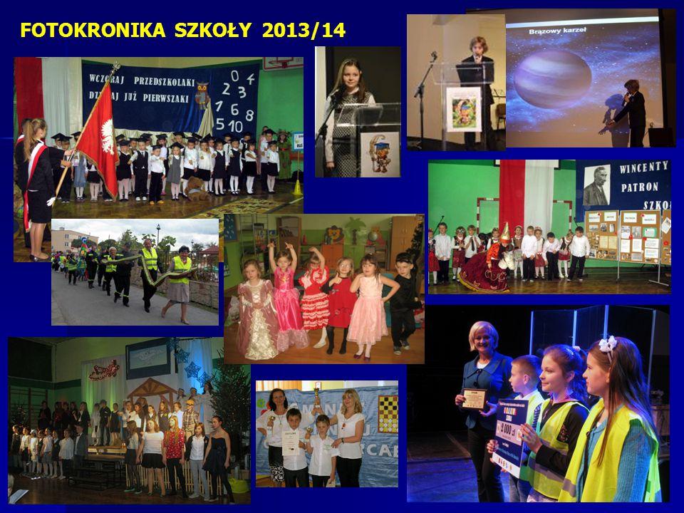 FOTOKRONIKA SZKOŁY 2013/14