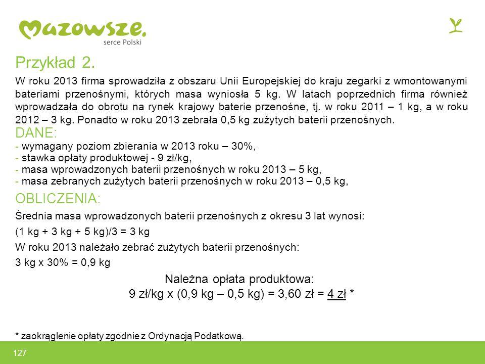 127 Przykład 2.