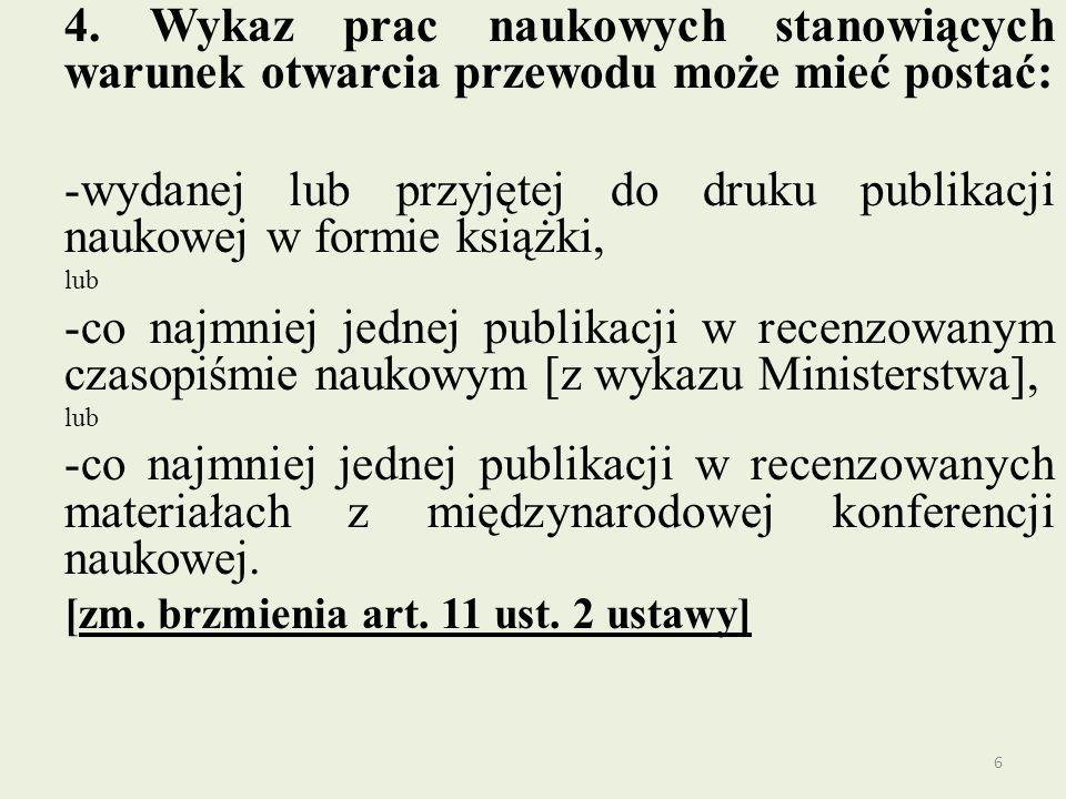 Regulacje ministerialne i CKdsSiT Mówią o tym art.