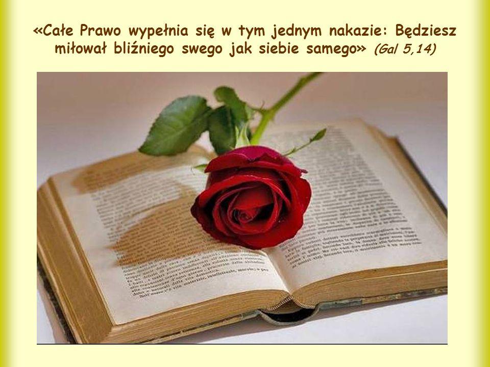 Co więcej, miłość bliźniego jest wyrazem miłości Boga.