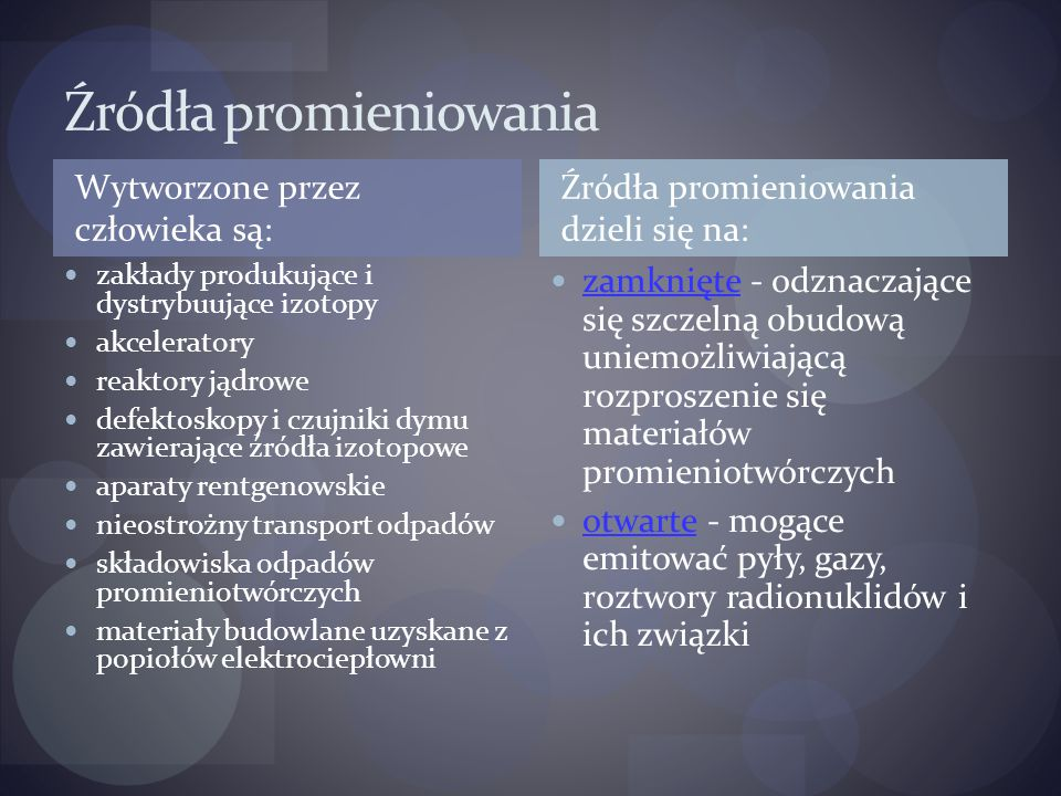 Elementy fizyki jądrowej Promieniotwórczość naturalna Alfa Beta Gamma