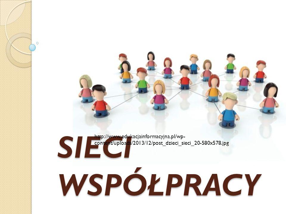 SIECI WSPÓŁPRACY http://www.edukacjainformacyjna.pl/wp- content/uploads/2013/12/post_dzieci_sieci_20-580x578.jpg