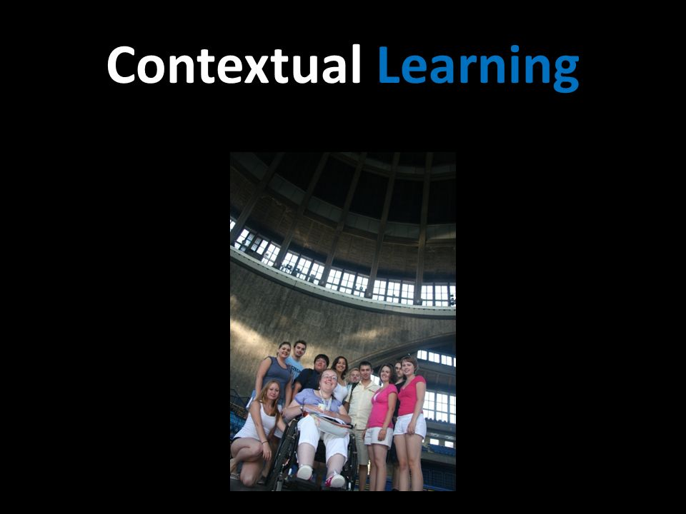 Contextual Learning