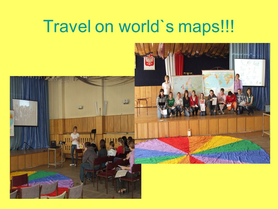 Travel on world`s maps!!!