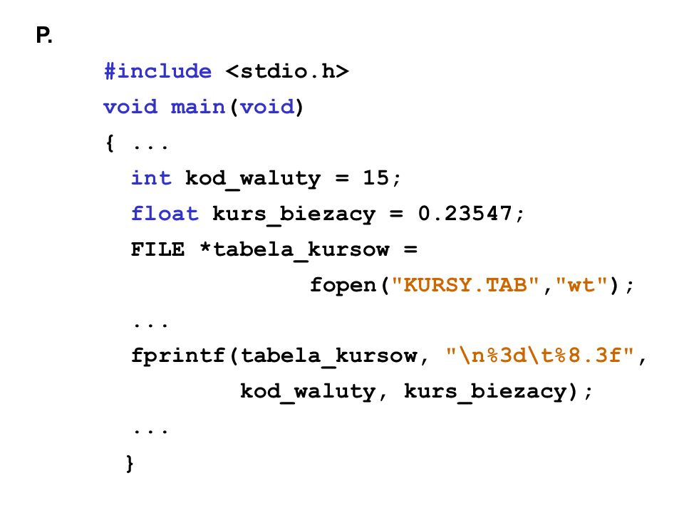 P. #include void main(void) {...