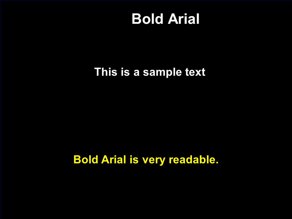 J. Nawrocki, Team building Bold Arial This is a sample text Bold Arial is very readable.