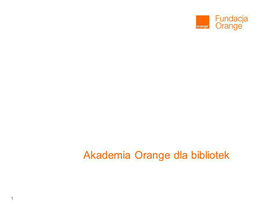 1 Akademia Orange dla bibliotek