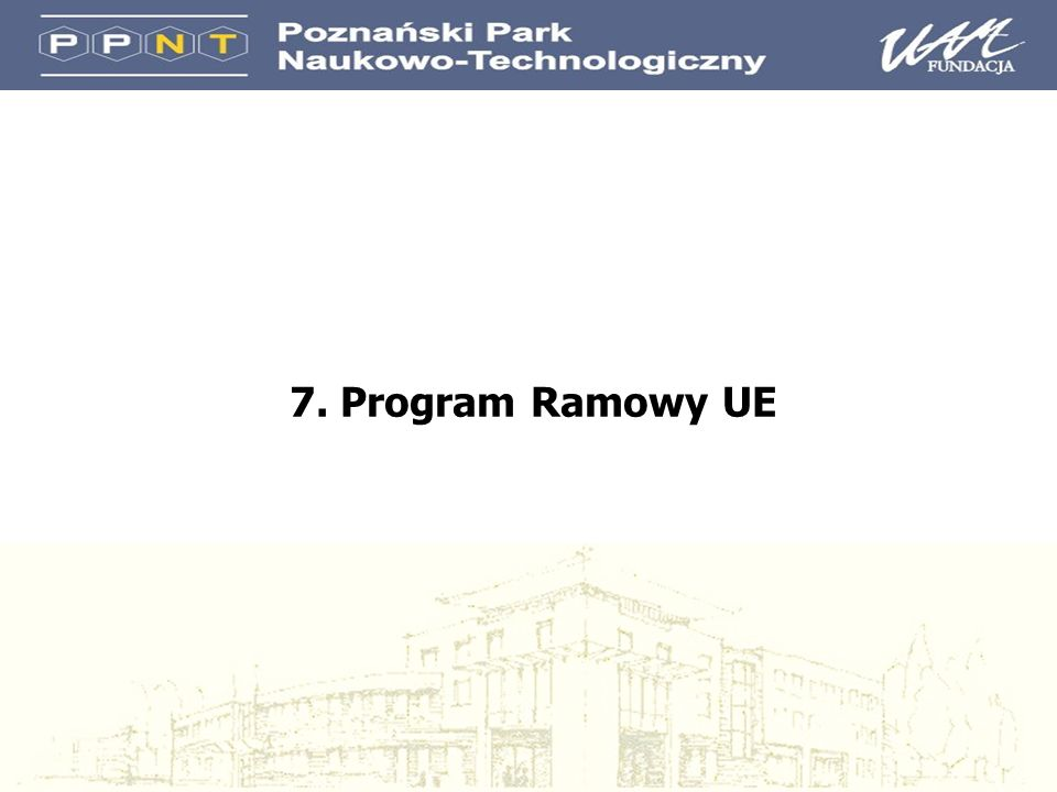 7. Program Ramowy UE