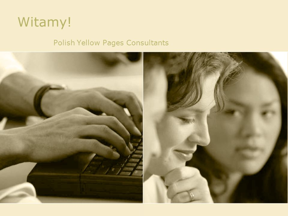 Witamy! Polish Yellow Pages Consultants