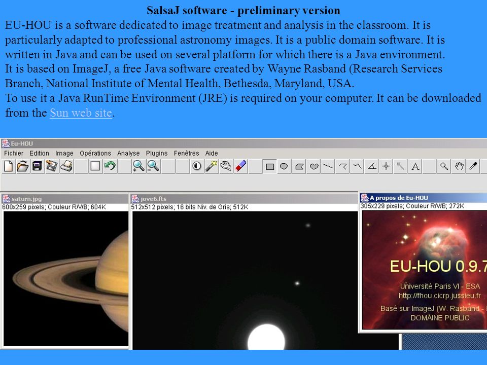 IP Software SALSA - J Such A Lovely Software for Astronomy!