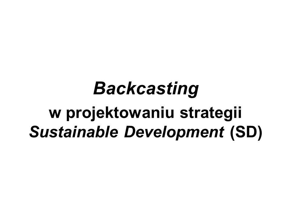 Backcasting w projektowaniu strategii Sustainable Development (SD)