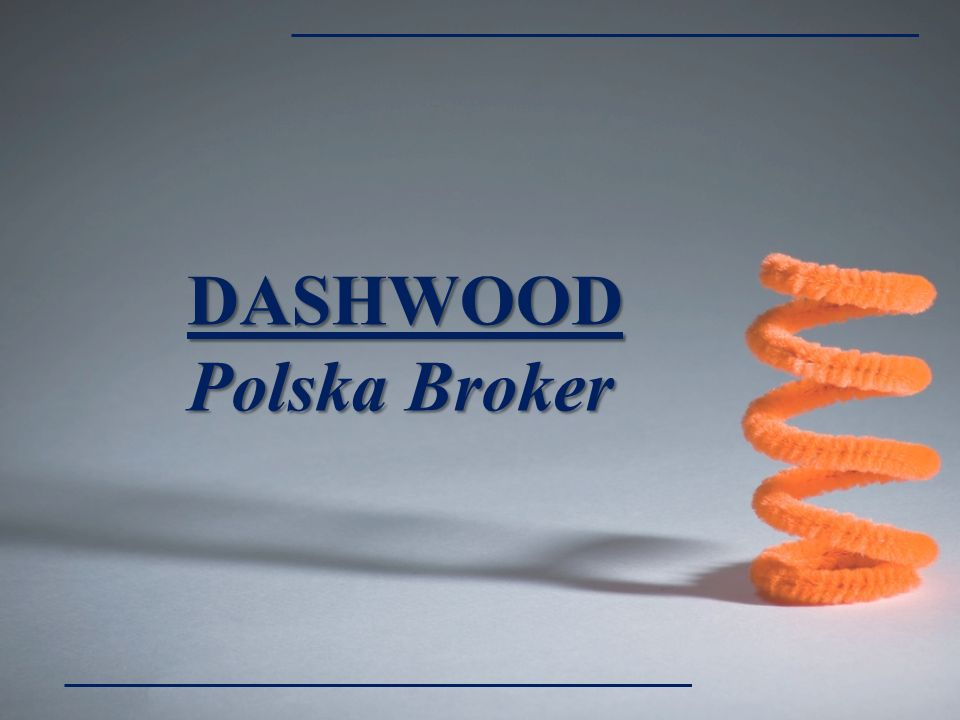 DASHWOOD Polska Broker