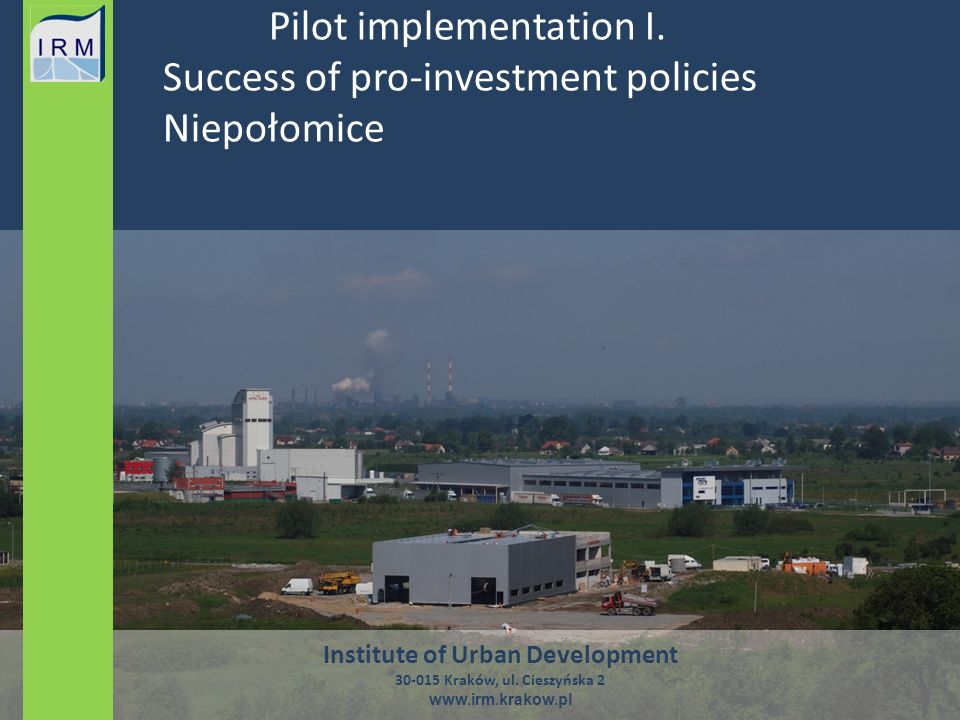 Pilot implementation I.