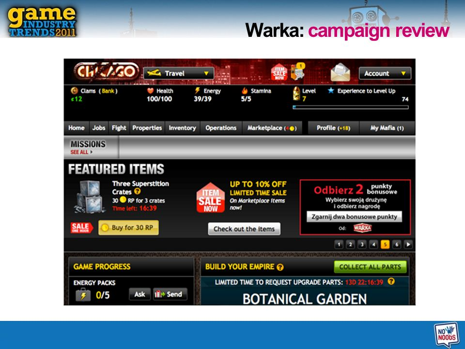 20 Warka: campaign review