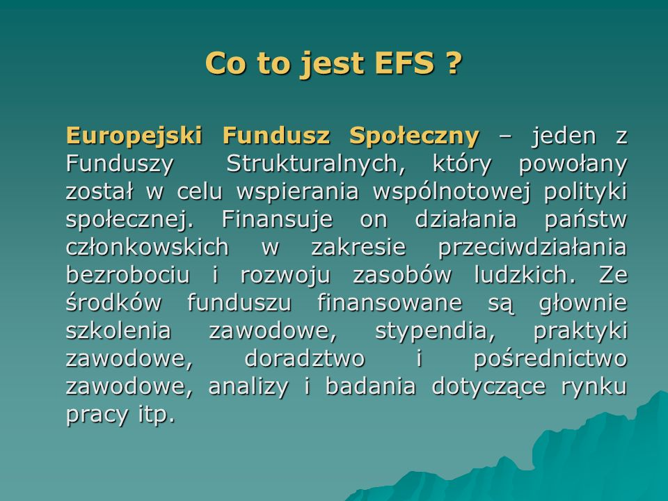 Co to jest EFS .