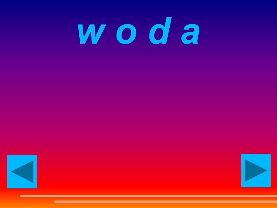 w o d a water