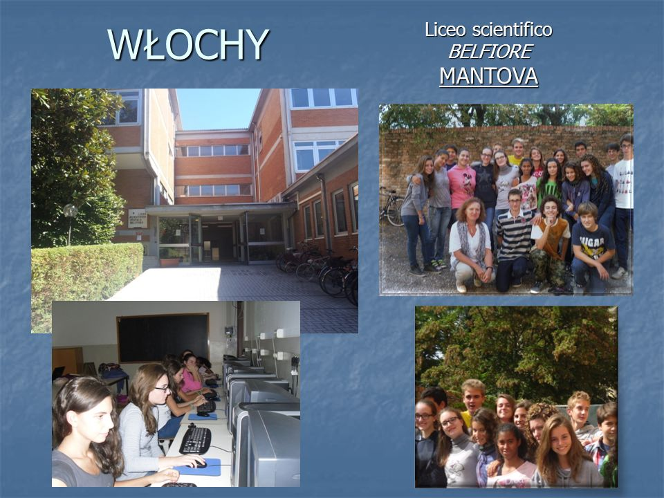 WŁOCHY Liceo scientifico BELFIOREMANTOVA
