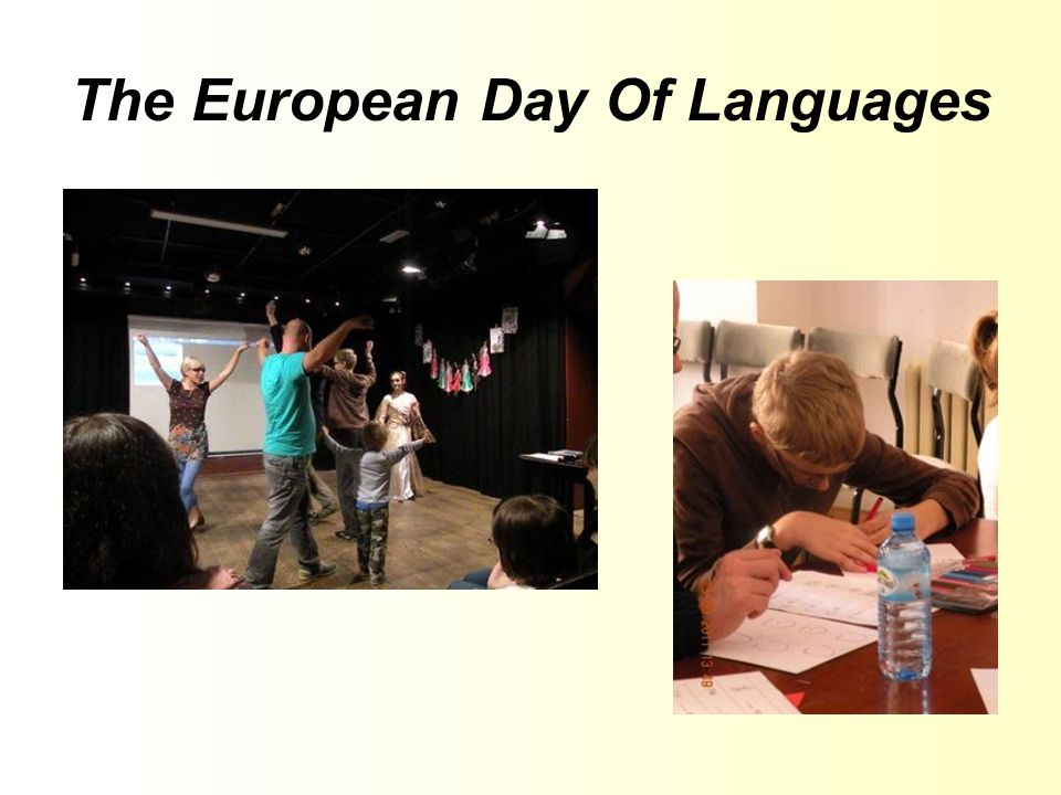 The European Day Of Languages