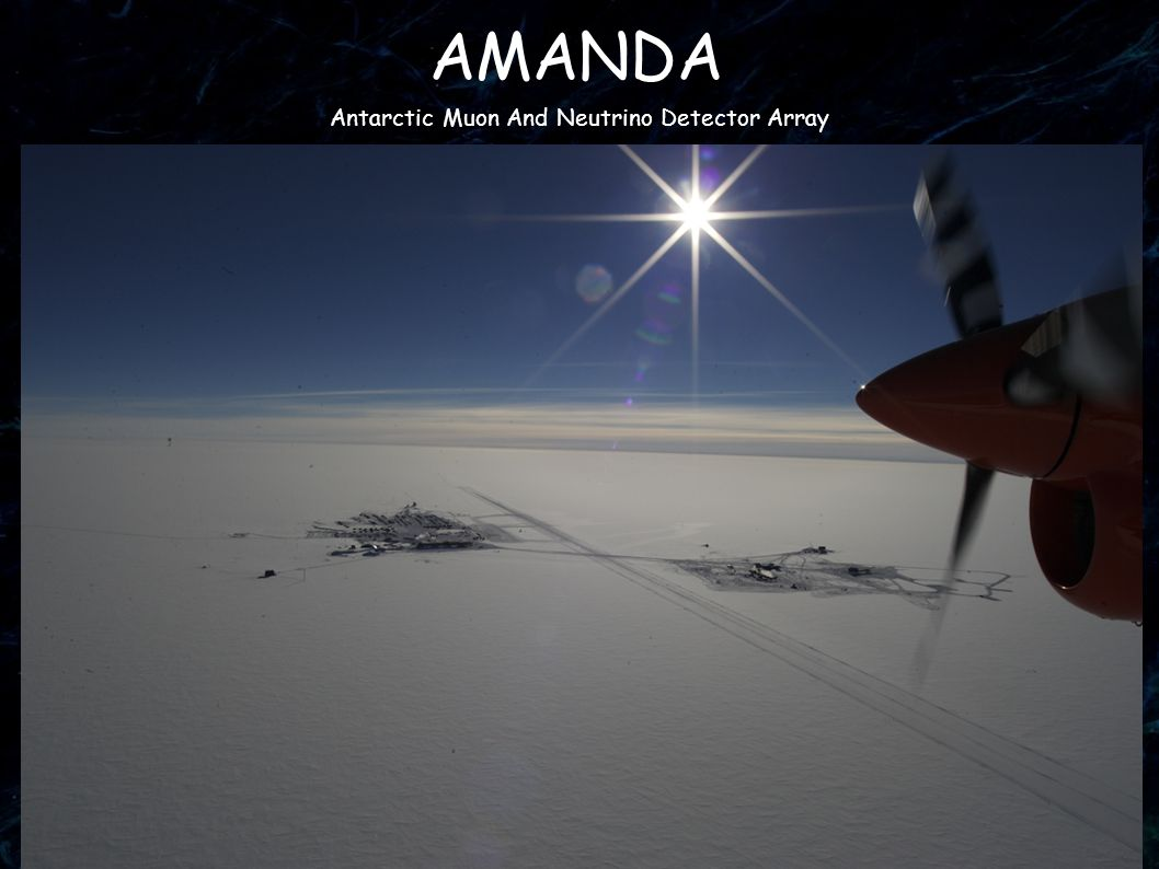 33 AMANDA Antarctic Muon And Neutrino Detector Array