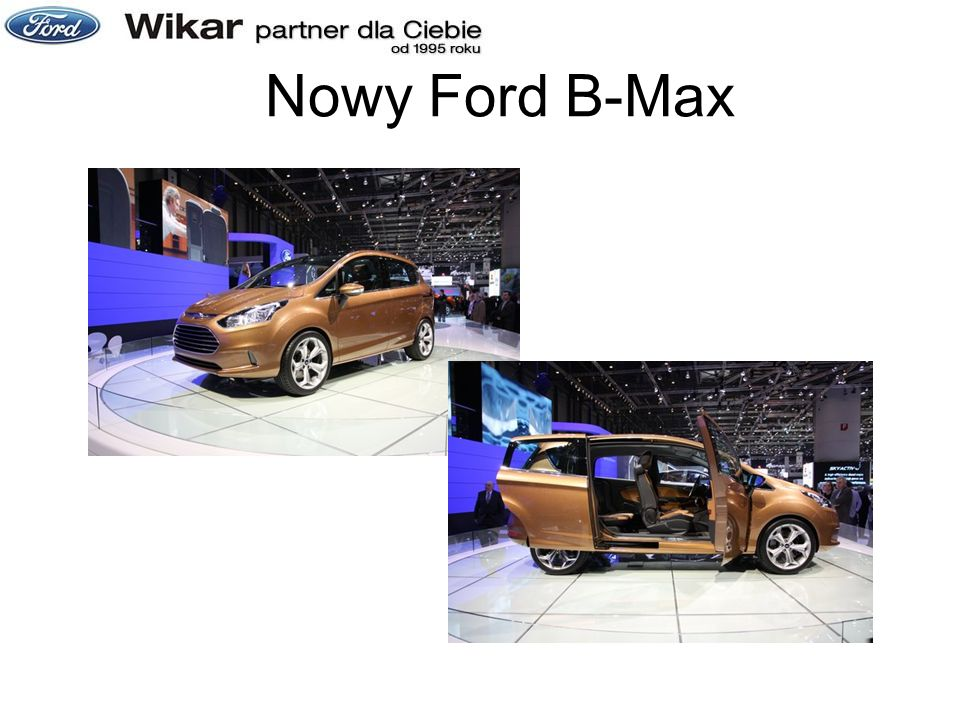 Nowy Ford B-Max