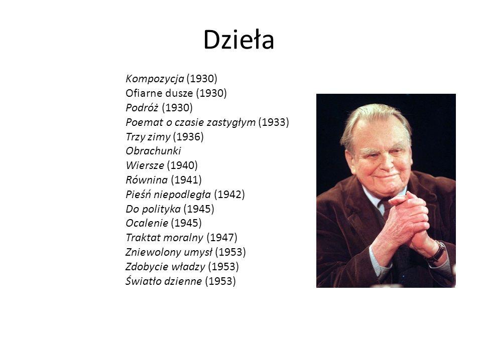 życie Czesław Miłosz Urodził Się R W Szetejniach Na