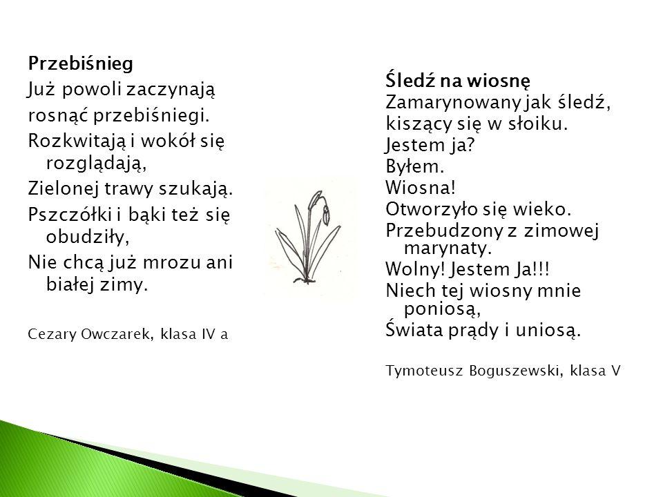 Gazetka Uczniów Szkoły Podstawowej Im Adama Mickiewicza W