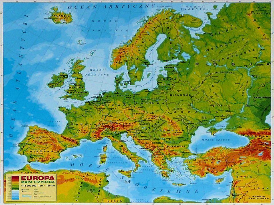 Europa Jest Gdzie Indziej Spis Tresci Mapa Europy Mapa
