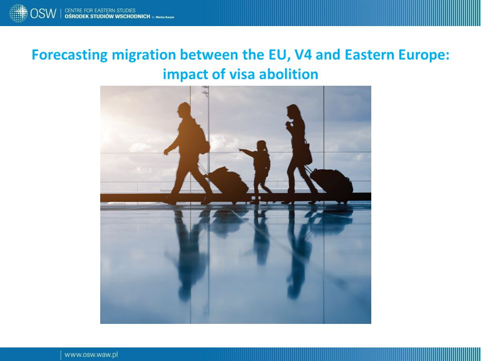 Forecasting migration between the EU, V4 and Eastern Europe: impact of visa abolition